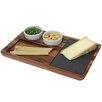 Woodard & Charles Acacia Wood Slate Cheese Tray