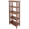"""Manchester Wood Mission 54"""" Standard Bookcase"""