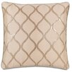 Eastern Accents Bardot Bisque Throw Pillow