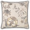 Eastern Accents Edith Pleated Ribbon Throw Pillow