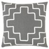 Eastern Accents Downey Breeze Slate Throw Pillow