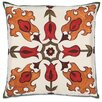 Eastern Accents Folkloric Tulip Fire Throw Pillow