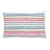 Eastern Accents Folkloric Pleated Rainbow Lumbar Pillow