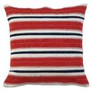 Eastern Accents Americana Forever Stripes Throw Pillow