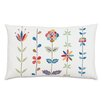 Eastern Accents Folkloric Garden Whimsy Lumbar Pillow