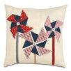 Eastern Accents Americana Pin Wheelin Throw Pillow