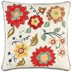 Eastern Accents Folkloric Floating Flora Throw Pillow