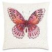Eastern Accents Garden Fauna Fuchsia Throw Pillow