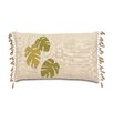 Eastern Accents Tropical Banana Leaves Lumbar Pillow