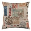 Eastern Accents Passport Please Throw Pillow