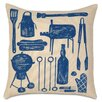 Eastern Accents Americana BBQ Indoor/Outdoor Throw Pillow