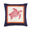 Eastern Accents Tropical Turtle Throw Pillow