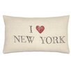 Eastern Accents Passport I Love New York Lumbar Pillow