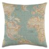 Eastern Accents Passport Round the World Throw Pillow