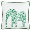 Eastern Accents Wild Things Earnest Elephant Throw Pillow