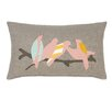 Eastern Accents Wild Things Flock Together Lumbar Pillow