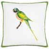 Eastern Accents Outdoor Green Parrot Throw Pillow
