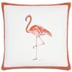 Eastern Accents Outdoor Flamingo Throw Pillow
