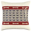 Eastern Accents Nautical Whale Pants Throw Pillow