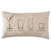 Eastern Accents Man Cave Have a Cocktail Lumbar Pillow