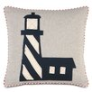Eastern Accents Nautical Rocky Shore Throw Pillow