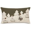Eastern Accents Ski Lodge Up Lift Lumbar Pillow