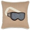 Eastern Accents Ski Lodge Wear Your Shades Throw Pillow