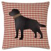 Eastern Accents Pets Lab on Bowline Throw Pillow
