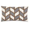 Eastern Accents Epic Stone Broken Chevron Stone Down Throw Pillow