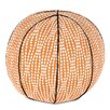 Eastern Accents Epic Shore Holmes Mandarin Basketball Down Throw Pillow