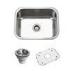 "Houzer Belleo 23.19"" x 17.94"" Topmount Single Bowl Kitchen Sink"