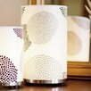 "Lights Up! Meridian 11"" H Table Lamp with Drum Shade"