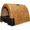 Kittyagogo Designer Cat Litter Box with New Leopard Print Cover