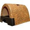 Kittyagogo Designer Cat Litter Box with New Leopard Print Cover