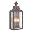 Elstead Lighting Wrought Iron 2 Light Outdoor Wall lantern