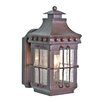 Elstead Lighting Wrought Iron 1 Light Outdoor Wall lantern