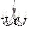Elstead Lighting Carisbrooke 5 Light Candle-Style Chandelier