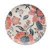 "Caribbean Joe Floral 8.88"" Round Salad Plate (Set of 4)"