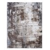 Broyhill® Abstract White/Brown Area Rug