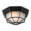 Firstlight 6 PANEL 1 Light Outdoor Flush