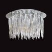 Firstlight Tiara 10 Light Flush Ceiling Light