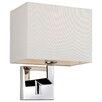 Firstlight Lex 1 Light Semi-Flush Wall Light