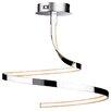 Firstlight Wave LED 90 Light Semi Flush Ceiling Light