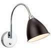 Firstlight Bari 1 Light Semi-Flush Wall Light