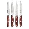 Ergo Chef Crimson Series 4 Piece Steak Knife Set