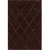 Chandra Rugs Davin Brown Geometric Rug