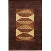 Chandra Rugs Dream Brown Floral Area Rug