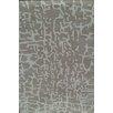 Chandra Rugs Davin Grey Abstract Rug