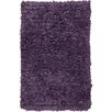 Chandra Rugs Paper Shag Purple Area Rug