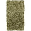 Chandra Rugs Paper Shag Green Rug